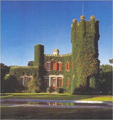 Un'immagine che ricorda la Vecchia Inghilterra: è El Castillo, magnifica estancia nella provincia di Buenos Aires.